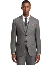 Brooks Brothers Milano Fit Donegal Threepiece Suit - Lyst