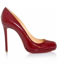 Christian Louboutin Neofilo 120mm Patent Leather Shoes - Lyst