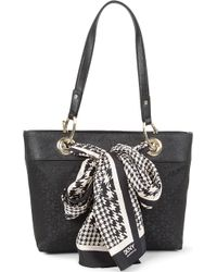 DKNY Town Country Scarf Tote - Lyst