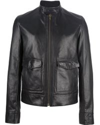 Givenchy Classic Leather Jacket - Lyst