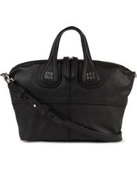 Givenchy Nightingale Mini Grainy Leather Shoulder Bag - Lyst
