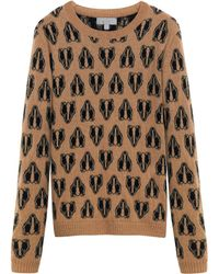 Mulberry Brown Badger Jumper - Lyst