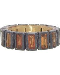 Nak Armstrong - Mandarin Garnet Mosaic Ring - Lyst
