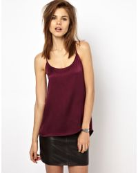 2nd Day Silk Cami Tank - Lyst