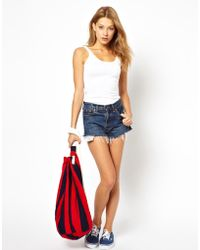 American Apparel - Cinch Rope Tote - Lyst
