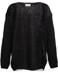 Ashish - Oversized Wool and Mesh Jumper - Lyst