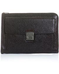 Dolce & Gabbana - Leather Document Holder - Lyst