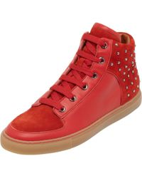 Mulberry - Studded Sneaker - Lyst