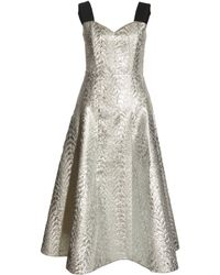 Antipodium - Radial Dress in Silver By Antipodium - Lyst