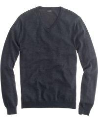 J.Crew Slim Merino Wool V-Neck Sweater - Lyst
