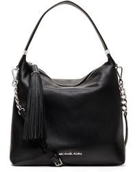 Michael Kors Medium Weston Pebbled Shoulder Bag - Lyst