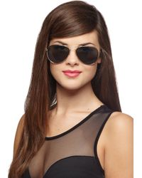 ModCloth Get An A For Aviator Sunglasses - Lyst