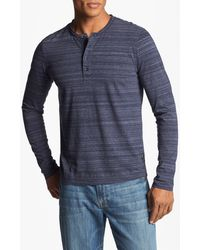 Boss by Hugo Boss Celano Regular Fit Long Sleeve Henley - Lyst