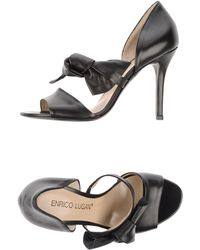 Enrico Lugani High-Heeled Sandals - Lyst