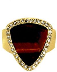 House Of Harlow Band Ring - Lyst