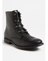 McQ by Alexander McQueen Plain Toe Boots - Lyst
