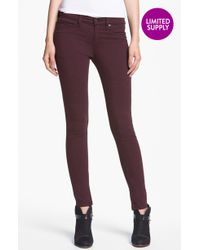 Rag & Bone Plush Twill Leggings - Lyst