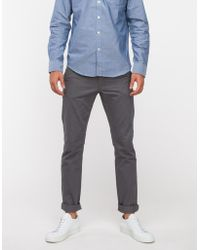 Cheap Monday Slim Chino in Heavy Grey - Lyst