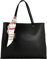 Ivanka Trump - Julia Faux Leather Shopper Bag - Lyst