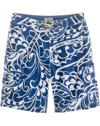 J.Crew - Molokini Floral Board Short - Lyst