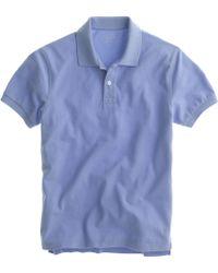 J.Crew Tall Classic Piqué Polo Shirt - Lyst