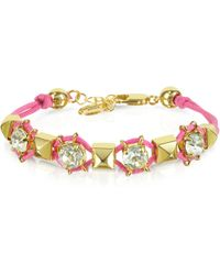 Juicy Couture Pyramid Stud Friendship Bracelet