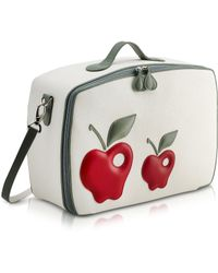 Pineider - Red Apple Mini Travel Bag - Lyst