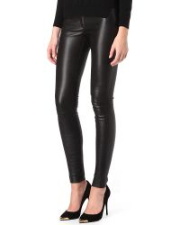 Alice + Olivia Leather Leggings - Lyst