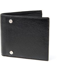 Balenciaga Bifold Leather Wallet - Lyst
