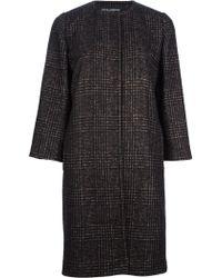Dolce & Gabbana Belted Coat - Lyst