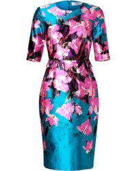 Prabal Gurung Silk-cotton Sheath Dress - Lyst