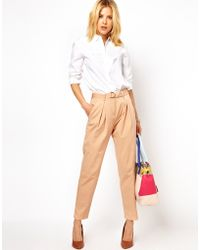 Emma Cook - Asos Peg Pant in Relaxed Fit - Lyst