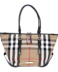 Burberry Small Salisbury Tote - Lyst