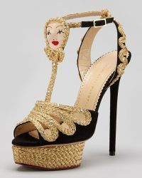 Charlotte Olympia Rapunzel Braided Platform Sandal - Lyst