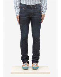 J Brand Perfect-slim Washed Jeans - Lyst