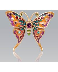 Jay Strongwater - Arlyn Grand Butterfly Pin - Lyst