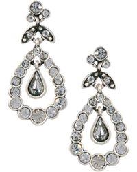 Cath Kidston - Pear Drop Earrings - Lyst