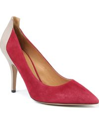 Isabel Marant Paige Suede and Leather Courts - Lyst