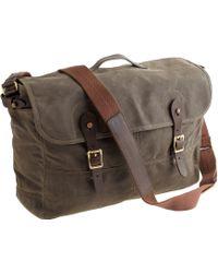 J.Crew Abingdon Messenger Bag - Lyst