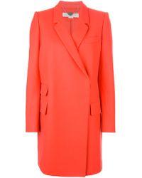 Stella McCartney Oversized Single Breasted Coat - Lyst
