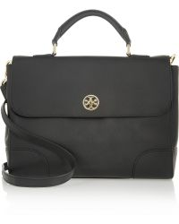 Tory Burch - Robinson Textured-leather Satchel - Lyst