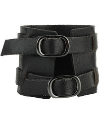 Forever 21 | Woven Leather Cuff | Lyst