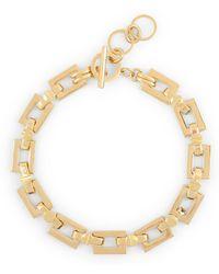 C. Wonder Square Links Choker Necklace - Lyst