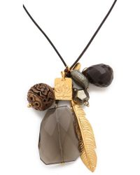 Chan Luu - Charm Necklace - Lyst