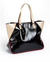 DKNY Saffiano Leather Tote Bag - Lyst
