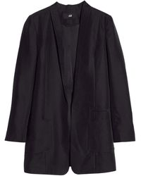 H&M Long Jacket - Lyst
