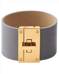 Jaeger Leather Cuff - Lyst