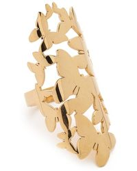 Jennifer Zeuner Jewelry Butterfly Cluster Ring - Lyst