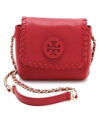 Tory Burch Marion Small Shoulder Bag Red 117