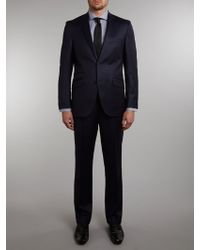 Without Prejudice Randolph Subtle Blue Stripe Regular Fit Suit - Lyst